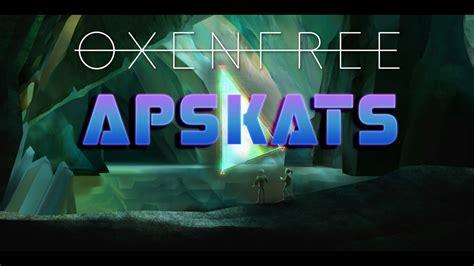 Oxenfree apskats - YouTube