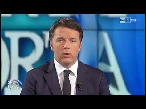 Matteo Renzi Porta A Porta by Matteo Renzi Porta A Porta 15 12 2015