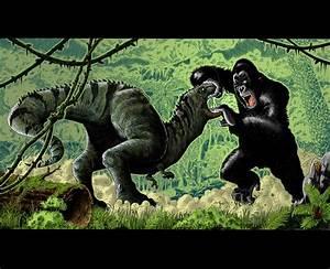 King Kong Vs. T-Rex in Colour by SasaBralic on DeviantArt