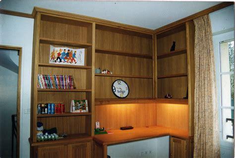 bibliotheque bureau bibliotheque bureau integre conceptions de maison