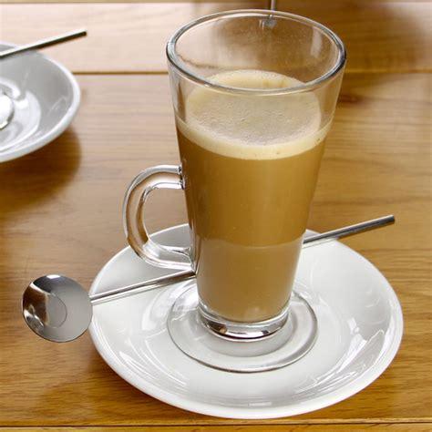 latte glass drinkstuff serving glasses