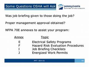 Arc Flash Safety Training by Pennsylvania Department of ...