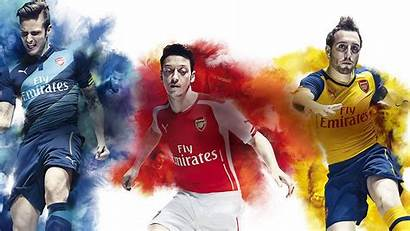 Arsenal Fc Wallpapers Ozil Giroud Background League