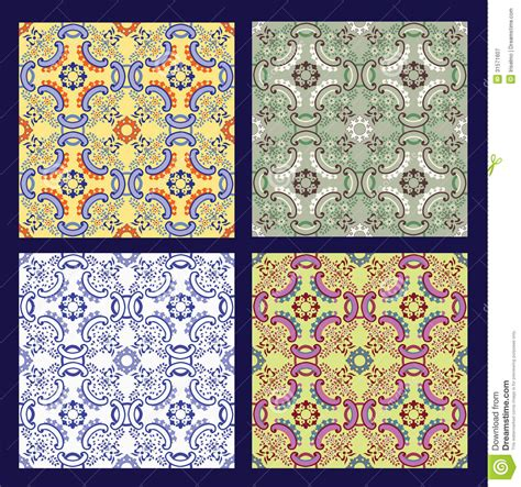 Set Of 4 Sicilian Tiles Royalty Free Stock Photography   Image: 31571607