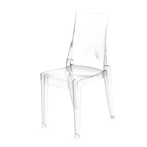 chaise design transparente chaise design transparente polycarbonate mooviin