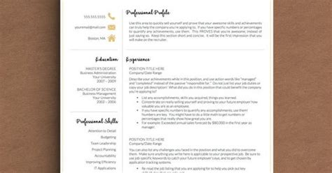 Creative Resume Writing Tips by This Modern Resume Template In Black And Gold Lets You Stand Out And Includes Resume Writing