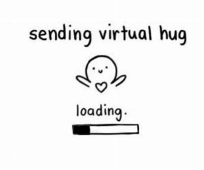 Hug Virtual Sending Funny Hugs Memes Hard