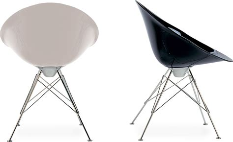 philippe starck chaise ero s fixed base chair hivemodern com