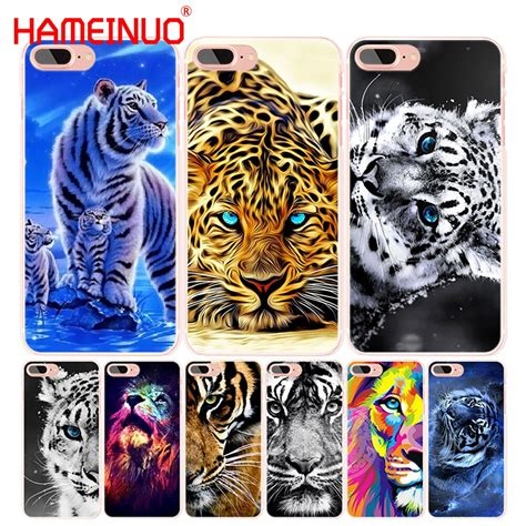 Hameinuo Lovely Strong Lion Tiger Animal Cell Phone Cover