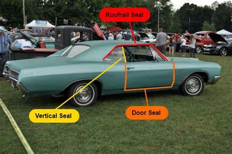 Car Door Weatherstrips & P Shape Pillar Black Car Door