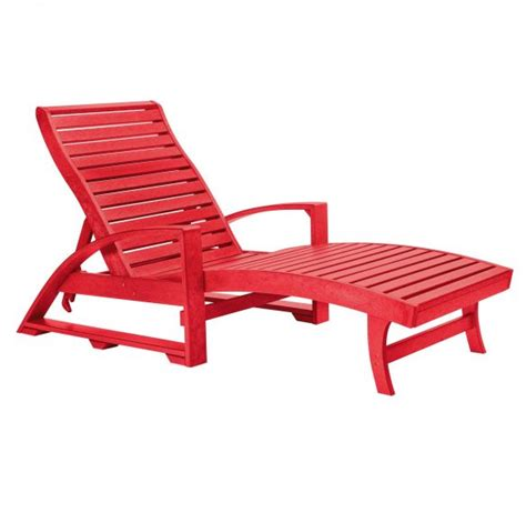 chaise adirondack plastique recyclé costco chaise lounges daybeds patio furniture