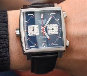 watches automatic tag heuer monaco calibre 11 39 mcqueen 39 on
