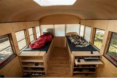 Bus Mobile Repurposed Into Gym Floor Comfy