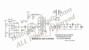 circuit 405wireless led flasher circuits designed by With led circuits pdf