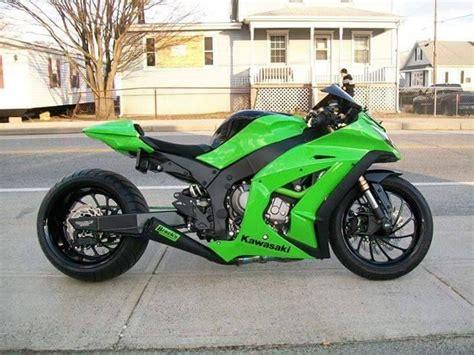 Kawasaki Zx10 R Modification by Stretched Zx 10r Kawasaki Sport Bikes Kawasaki