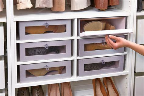 boite de rangement pour dressing rangement chaussures dressing ikea