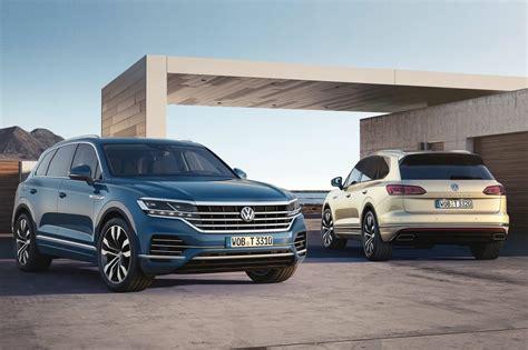volkswagen 2019 lineup 2019 volkswagen touareg unveiled gets 310kw v8 diesel
