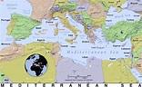 Mediterranean Sea · Public domain maps by PAT, the free ...