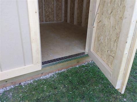 aluminum door threshold  hishon woodworking sheds