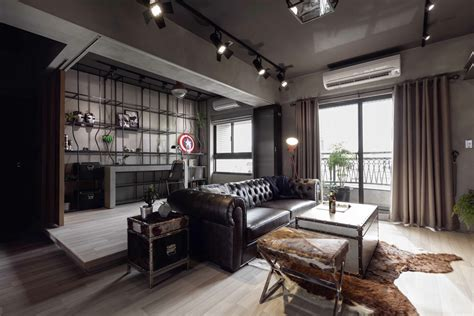 Loft 7 Home Decor : Fabulous Marvel Heroes Themed House With Cement Finish And