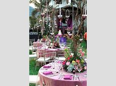 Enchanted garden baby shower idea Baby shower