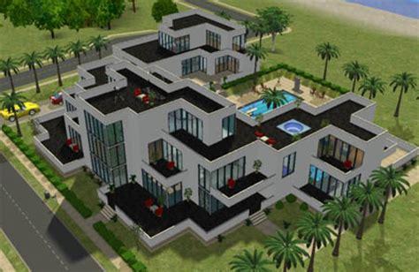 l ext 233 rieur maison moderne de beverly hill sims 2 id 233 e de maison