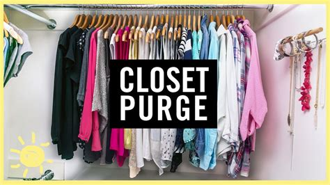 organize 1 day closet purge what 39 s up