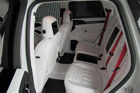porsche suv white interior anderson germany white dream porsche cayenne turbo 958