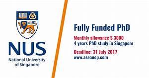 National University of Singapore Graduate Scholarship ...