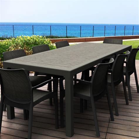 chaise jardin leclerc emejing salon de jardin avec grande table gallery