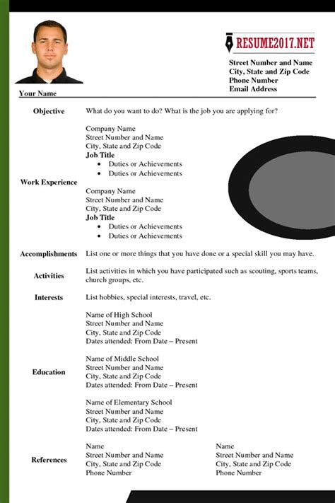 updated resume format 2017 what s new