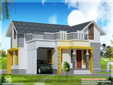 Unique Single Story Home Designs Single Story Modern House