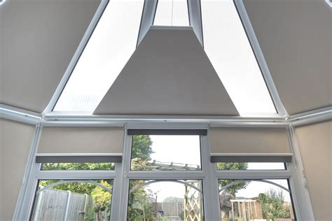 Conservatory Blinds 4 Less Roller Roof & Side Blinds