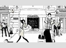 Coco Chanel The Illustrated World of a Fashion Icon by