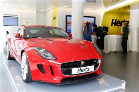 Hertz Offers Jaguar F-type In Europe