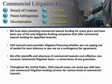 effective lawsuit funding company usa lawsuit loans