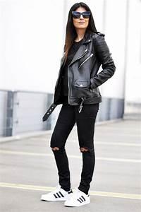 Black ripped knee jeans womens - Google-haku | Fashion I like | Pinterest | Ripped knee jeans ...