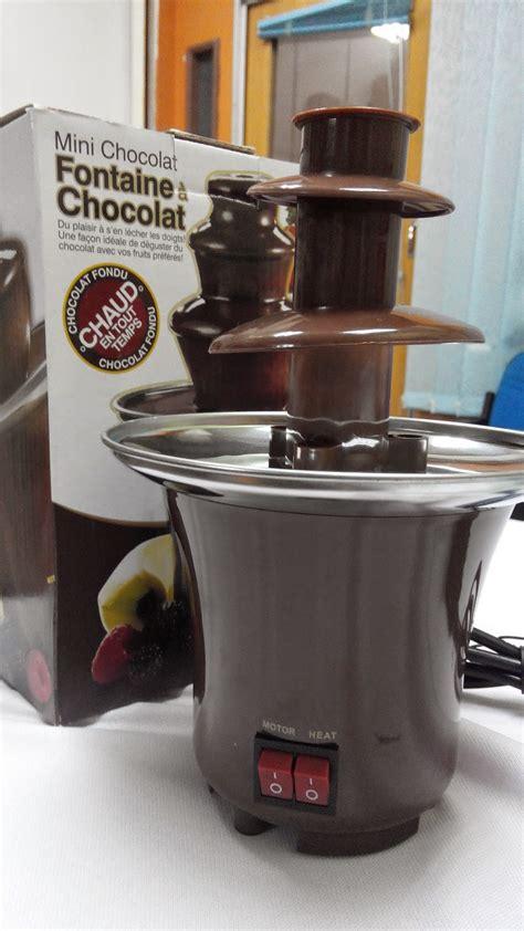 chocolate fountain mini    pm