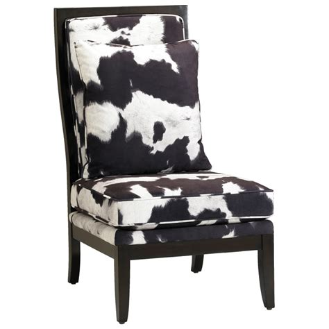 murray black and white accent chair dcg stores