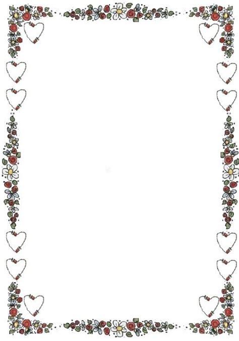 Elementos vectoriales con flores y hojas. diseños de bordes de paginas para trabajos - Buscar con ...