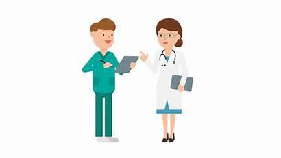 Nurse Doctor Cartoon Nursing Svg Skills Doctors