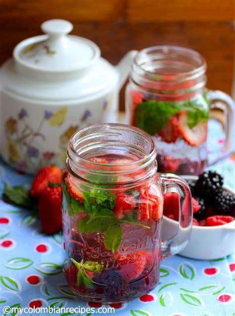 fruit tea recipe arom 225 tica de frutas fruit tea my colombian recipes