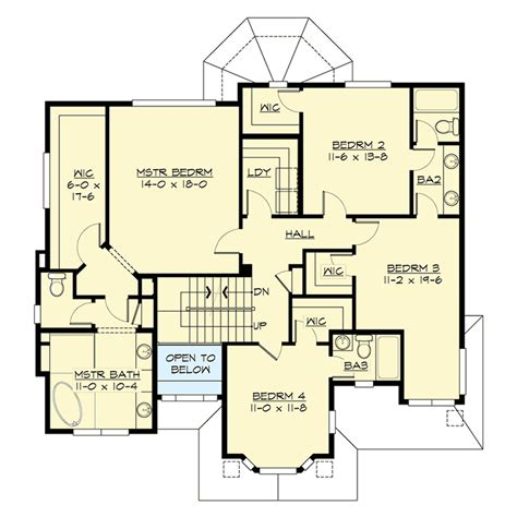 6 Bedroom House Plans by 6 Bedroom With Third Floor Room And Matching