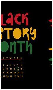 Black History Month Mobile Phone Wallpaper - Desktop Black ...