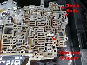 Toyota A541e Valve Body Check Ball And Vibrating Stopper