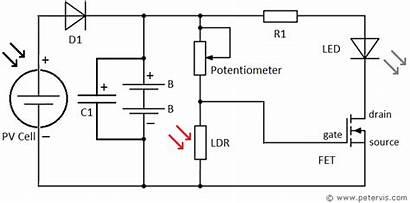 Circuit Solar Diagram Garden Circuits Cell Technology