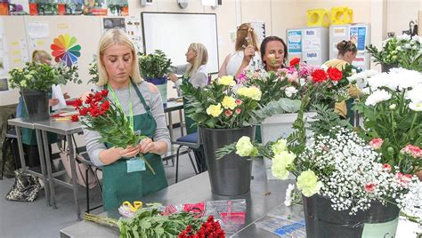 floral design hugh baird college
