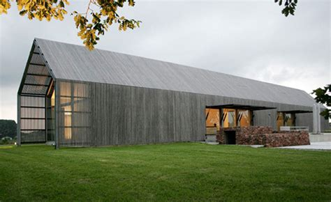 Modern Home Design, Sustainable Barn House Shaped