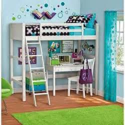 loft bunk bed furniture bedroom ladder desk and chair combo white ebay kid s room