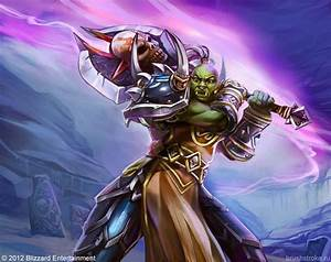 WoW TCG: Orc Warrior by ~AppleSin on deviantART   Fanbased ...